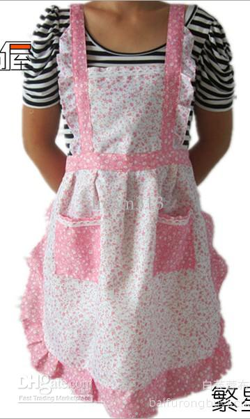 New Home Kitchen Apron Pastoral Style Craft Commercial Restaurant Kitchen  Bib Aprons Pinafore Ladies Aprons Fun Aprons From Dream313, $72.13|  Dhgate.Com