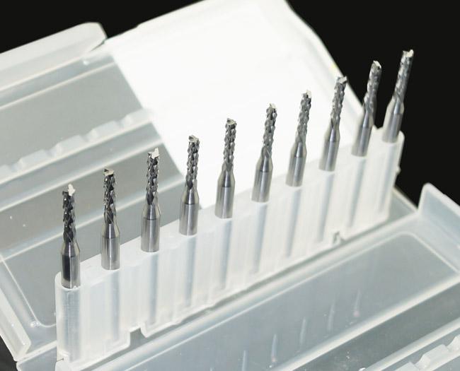 10 X CARBIDE PCB CNC Gravure Bits Eindfrees - 2mm Diameter # SM391 @CF