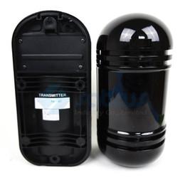 Wholesale Infrared Beam Detectors - Wireless Photoelectric Dual Beams Infrared Detector Sensor (Transmitter and Receiver) Perimeter Fence 100 meters