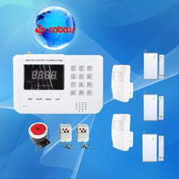 Detector Gsm Alarm NZ - 20% Off - 99 Zons GSM PSTN Dual Network Burglar Home Security Alarm system with 2 PIR Detectors 3 Door Sensors sg-130