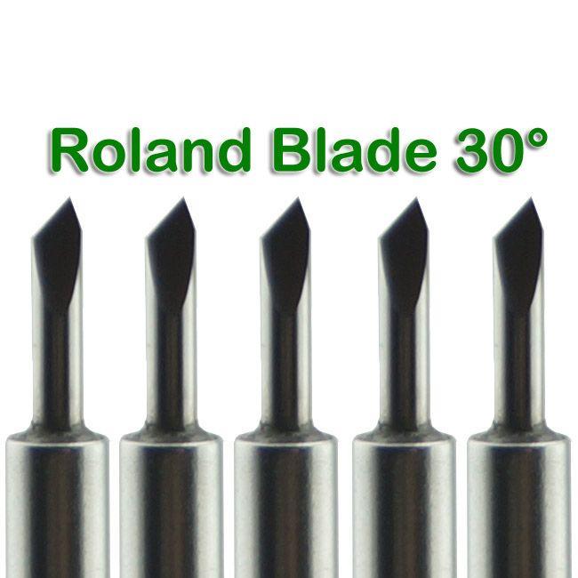 Nouveau / Lame De Carbure 30 Deg pour ROLAND Vinyle Cutter Plotter Livraison Gratuite # SM481 @CF