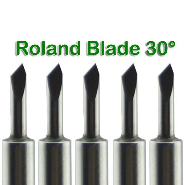 Nueva / Hoja de carburo 30 Deg para ROLAND vinilo cortador Plotter envío gratis # SM481 @CF