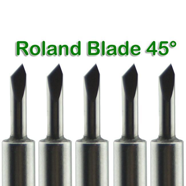 Nuevo / Roland Blade 45 Grados Vinilo Cortador Plotter Envío Gratis # SM482 @CF
