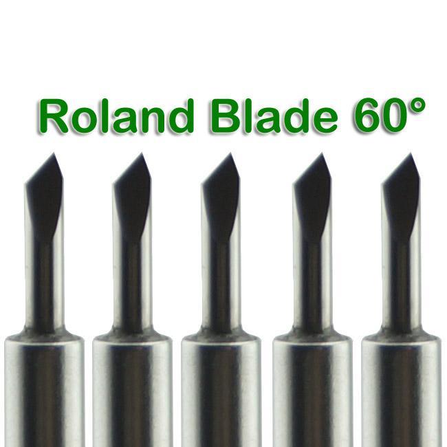 Nya / Roland Vinyl Cutter Plotter Blad 60 grader # Sm483 @sd