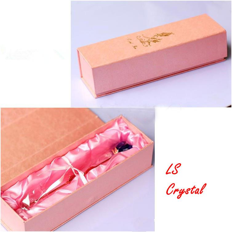 Nouveau magnifique Crystal Rose Fleur 12