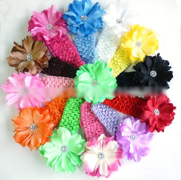 Children s Hair Accessories Small Peony Flower Headwear Suits Baby Hair  Clips+Hair Band Canada 2019 From F 0231 a3dd1bf03f9
