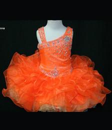Piccoli abiti da sposa rosie online-Bella festa di compleanno Dress Short Little Rosie Girls Pageant Dress