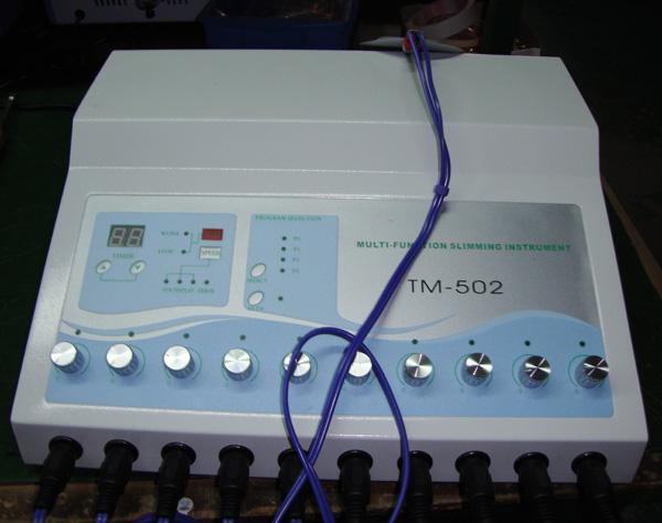 TM-502 Abnehmen der Maschine Gewichtsverlust ems Muskelstimulator Elektrostimulationsmaschine Russische Wellen ems Elektrischer Muskelstimulator