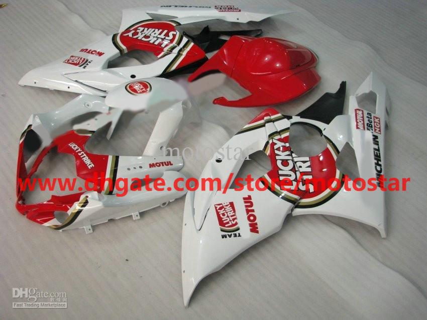 3 in 1 For 2005 2006 SUZUKI GSX-R1000 K5 GSXR1000 05 06 GSXR 1000 Lucky strike fairing kit & 2 gifts