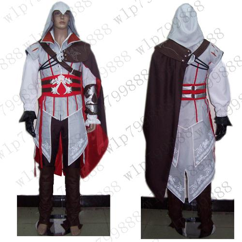 Assassin S Creed 2 Costume II EZIO Anime Cosplay NEW Simple Anime Costume  Homemade Cosplay Costumes From Cyb158 860f98d35e2e