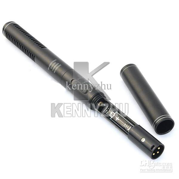 Professionelle Shotgun Interview Condenser Unidirektionales System Kamera Camcorder Mikrofon Mikrofon 3,5-mm-Stecker für Canon Nikon