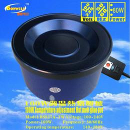 Wholesale Extension Glue Pots - Wholesale -EU,GB plug 200 watts adjustable thermostats hair extension tool, glue pot, 1 pcs lot