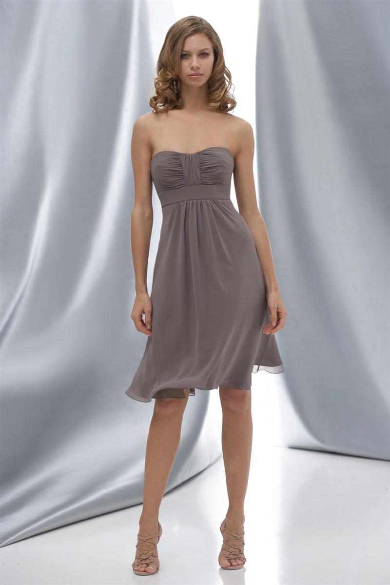Most popular beautiful gray chiffon knee length bridesmaid dress most popular beautiful gray chiffon knee length bridesmaid dress cocktail dress prom gown bd277 black lace bridesmaid dresses bridesmaid dresses purple from ombrellifo Images