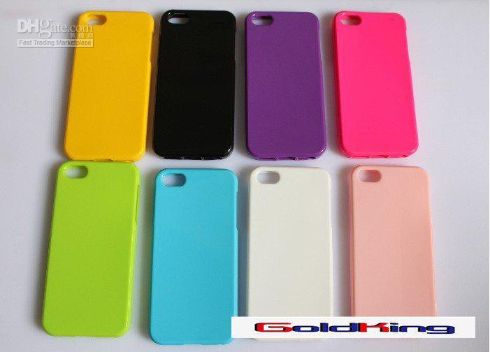 iPhone 7 iPhone 7プラスiPhone 6、iPhone 6 Plus、S7注7 100ピース/ロットのためのソフトTPUキャンディーカラーケース