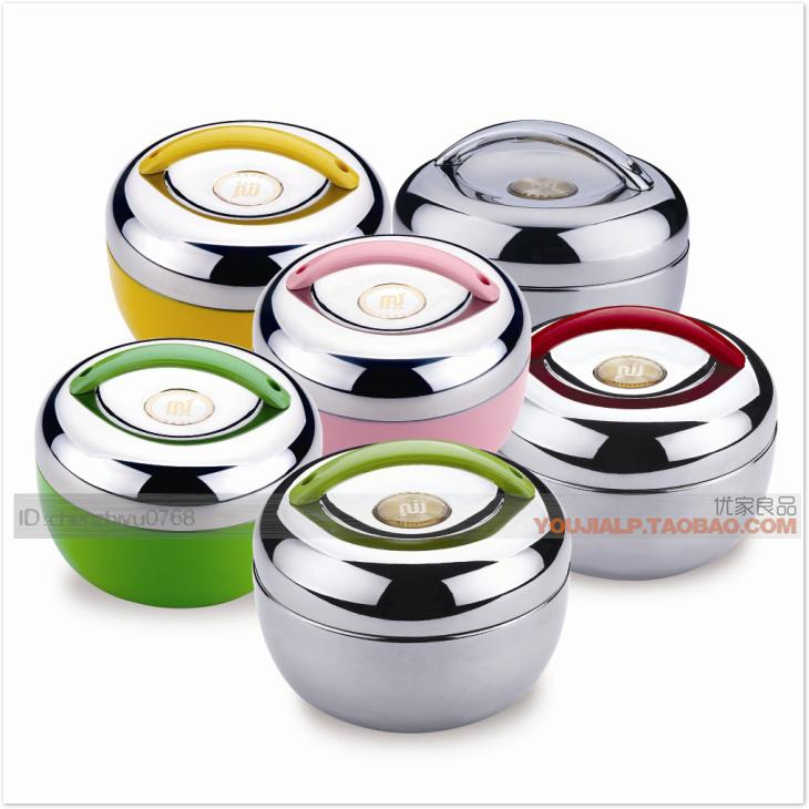 2018 Stainless Steel Thermal Insulation Lunch Box Pail