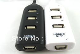 Wholesale Hub High Speed - DHL Shipping 200pcs lot RA 4 Port High Speed Mini USB 2.0 HUB Adapter For Laptop PC 480Mbps Expansion Splitter 0001