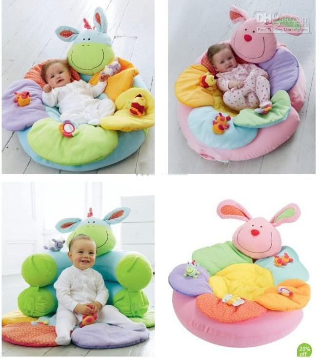 2019 2012 Elc Blossom Farm Clover Sit Me Up Cosy Game Blanket Baby