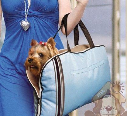 Livraison gratuite chien lavable chat transporteur sac tapis pliable sac à bandoulière sac bluecoffee