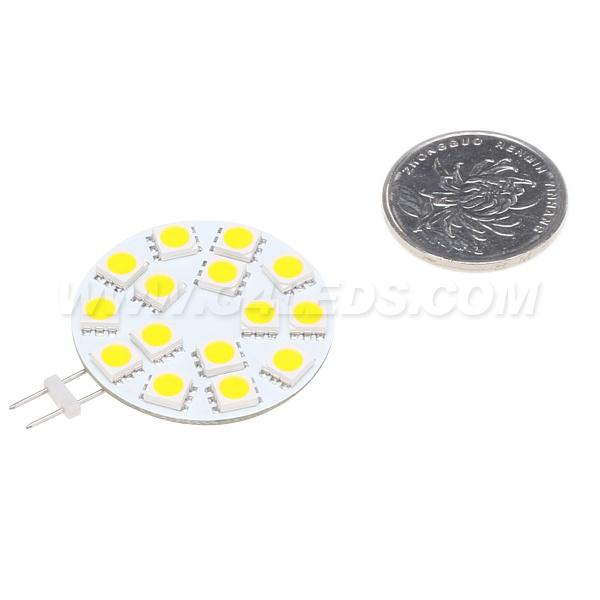 Gratis verzending! LED G4 Spotlamp 15LEDS SMD 5050 3W AC / DC10-30V DIMBARE WIT 330LM SHIPS AUTO