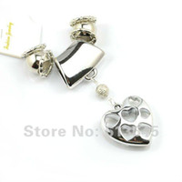 Wholesale Diy Scarves Set - 12SETS LOT, Wholesale 4 Designs Mixed DIY Jewellery Necklace Scarf Pendants Set Scarf Charming Acces