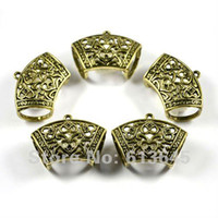 Wholesale Diy Jewellery Accessories - 12PCS LOT, Wholesale DIY Jewellery Findings Alloy Antique Bronze Scarf Pendant Accessories Holding T