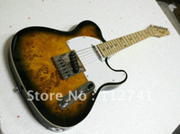 Wholesale custom instrument - Wholesale -Free Shipping Newest Custom TEL Signature Electric Guitar Wooden High Quality Musical instruments