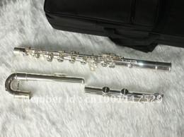 professionelle okarina Rabatt NEU Holzbläser Silber Big Bass Flöten versandkostenfrei