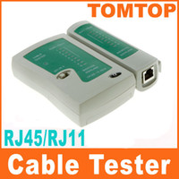 Wholesale Cat5 Lan Network Cable - RJ45 RJ11 RJ12 CAT5 UTP NETWORK LAN USB CABLE TESTER Free Shipping C119
