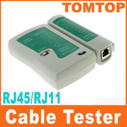 Wholesale Wholesale Cat5 Cable - RJ45 RJ11 RJ12 CAT5 UTP NETWORK LAN USB CABLE TESTER Free Shipping C119