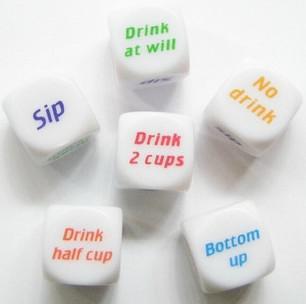 Gratuit DHL FEDEX Party Drink Décider Dice Jeux Pub Bar Amusant Die Jouet Cadeau KTV Bar Jeu Dice