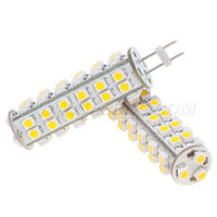 Wholesale 24v 3w bulb online - 51Led G6 Lamp Lighting Bulb AC DC10 V W LM Warm White Car Boat Housing Carts