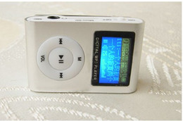 Wholesale green e cards - 6 colors Sport Mp3 Player with screen and FM radio and all sets of the Accessories