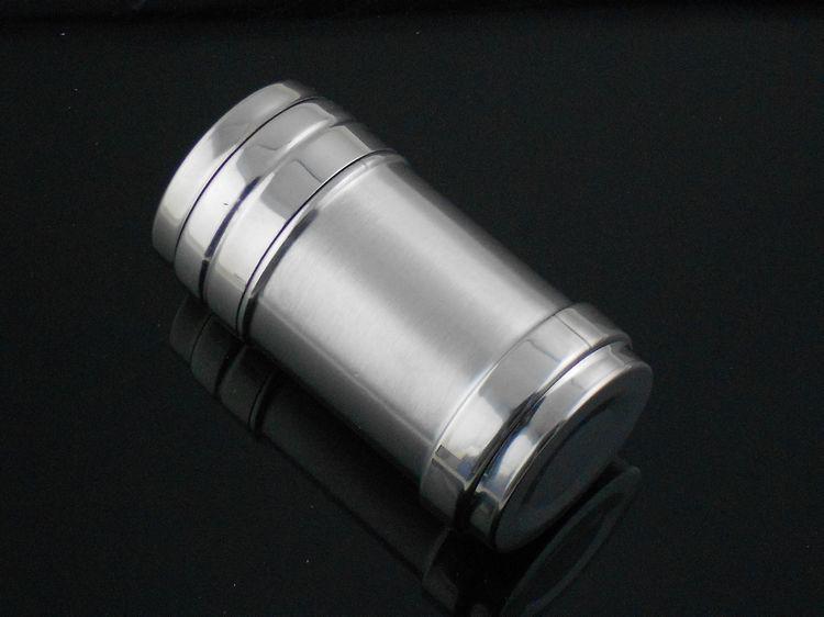 Moedor de pimenta de pimenta elétrica de aço inoxidável Pepper Salt Shaker Recipiente 1