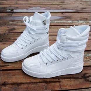 2012 Mens White Shoes Boots Fashion