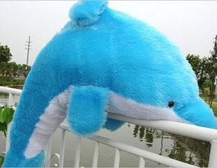 Giant enorme knuffelige gevulde dieren pluche mooie grote dolfijn pop 40