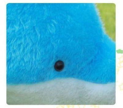 Giant Stora Cuddly Fyllda Djur Plush Härlig Big Dolphin Doll 40