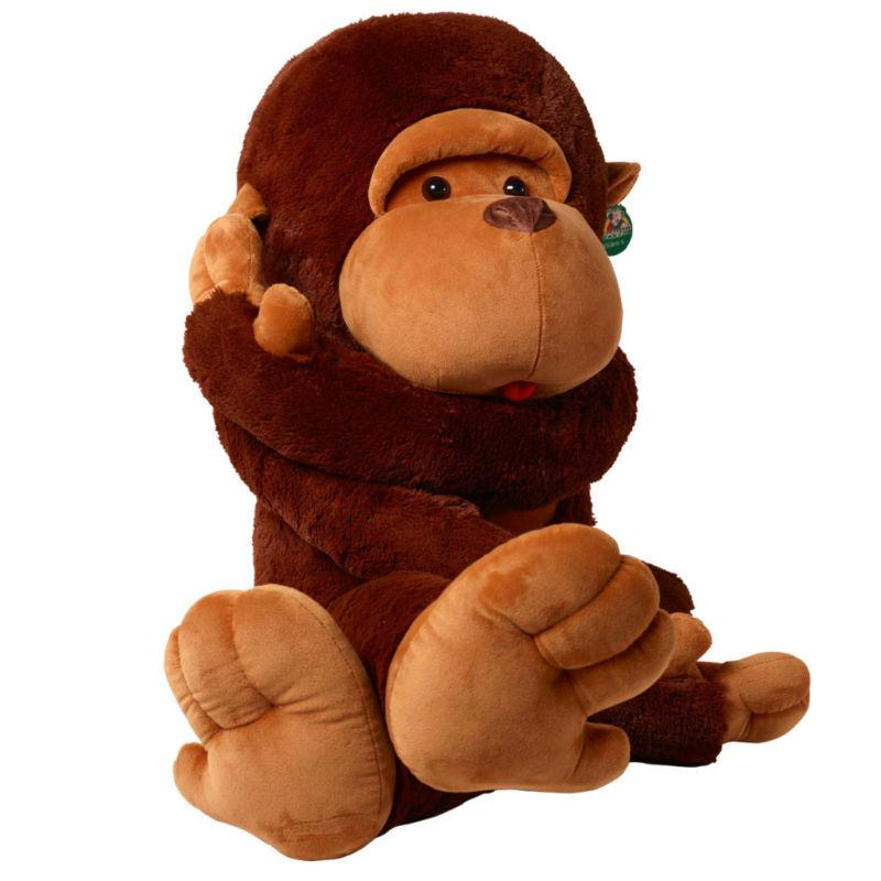 2019 43giant Huge Big Stuffed Animal Soft Monkey Toys 110cm From