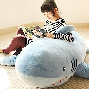 2017 1.8m Giant Huge Big Shark Stuffed Animal Plush Soft Toy Pillow Sofa  Cute Gift From Hellopeking, $161.01 | Dhgate.Com