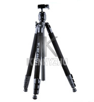 Wholesale Wf Tripods - New Hexagon Wrench Professional Fancier WF-6662A 6662A Tripod Pan Head Bag For DSLR Camera