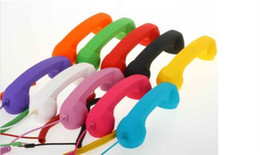 Wholesale Iphone Retro Phone Handset - wholesale factory price 10 colors POP Phone Handset For iPhone, Radiation Protection Handset,retro phone handset,DHL free shipping