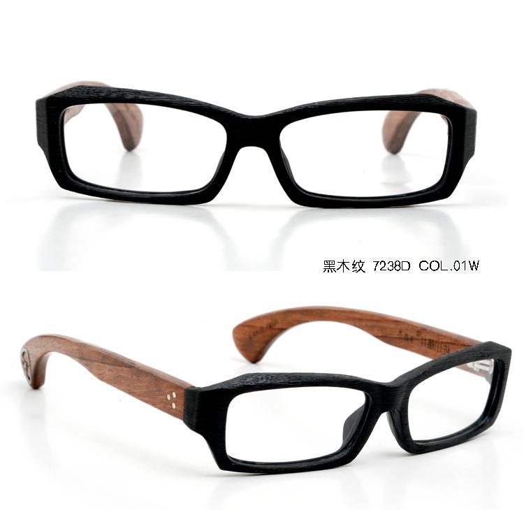 hot selling vintage designer optical handmade wooden glasses mens eyeglasses 7238d - Wooden Eyeglass Frames