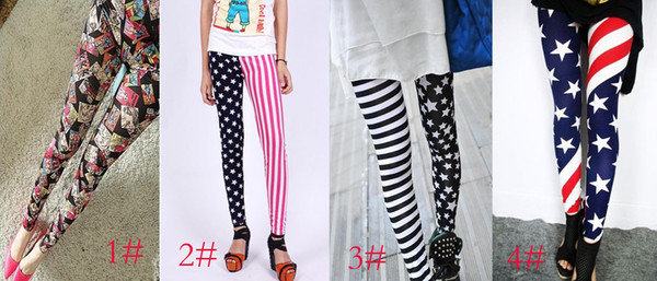 116f64f555af9 2013 new Fashion Women's Leggings patterned tights A variety of styles lady  pants