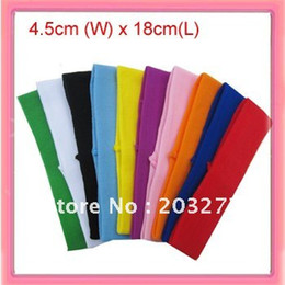 4.5cm wide nylon headbands,hair bands,36pcs bag can mixed color