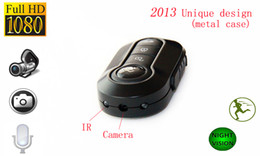 Wholesale Keychain Camera Full Hd - universal T4000 FULL HD 1080P Spy car key Hidden Camera mini camcorder 1920*1080 Night Vision Motion Detection keychain camera