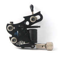 Wholesale Tattoo Machine Handmade Material - Top Handmade Danny Fowler Tattoo Machine Gun Liner For Ink Needles Kits Tattooing Supply