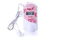 Wholesale Doppler Gel - 2013 New mini 2.5 MHz Fetal Doppler Fetal Heart Monitor with LCD display and Gel