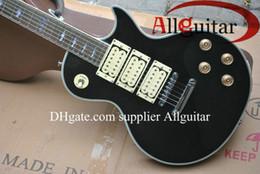 $enCountryForm.capitalKeyWord Canada - black Ace frehley signature 3 pickups electric guitar Top quality