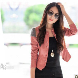 Short Pink Leather Jacket Suppliers | Best Short Pink Leather ...