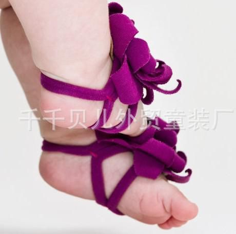 2019 Wholesale Baby Sandals Baby Barefoot Sandals Foot
