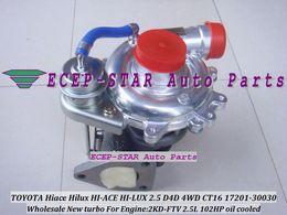Wholesale turbocharger for 2kd - Turbo Turbocharger CT16 17201-30030 1720130030 17201 30030 Oil Cooled For TOYOTA HI-ACE HI-LUX Hilux Hiace 2KDFTV 2KD-FTV 2.5L D4D 4WD